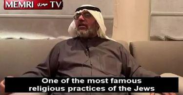 """""""Pesquisador"""" muçulmano causa indignação ao afirmar em vídeo online que judeus """"matam crianças cristãs"""" e usam seu sangue para fazer """"doces de festa"""""""