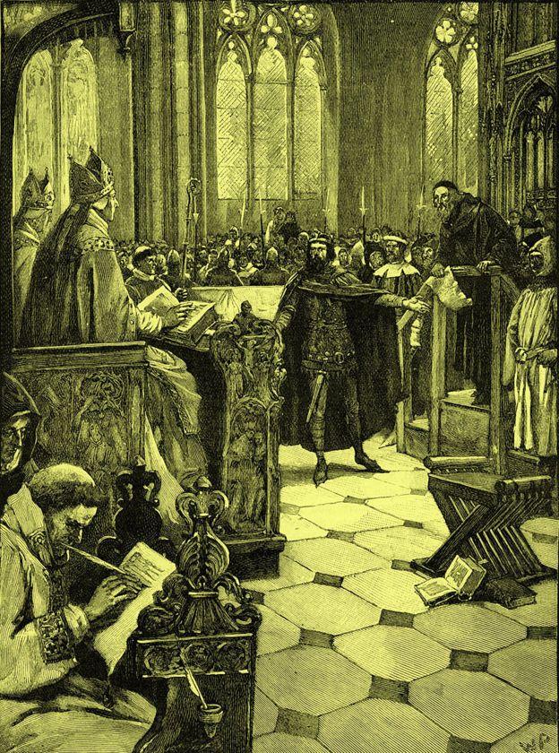 Audiência que condenou John Wycliffe foi uma farsa do começo ao fim