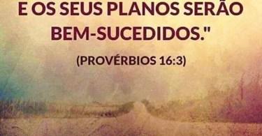 Provérbios 16:3