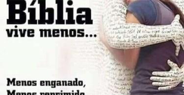 Quem lê a Bíblia vive menos...