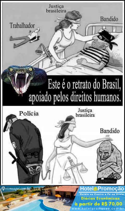 O Retrato do Brasil apoiado pelos Direitos Humanos