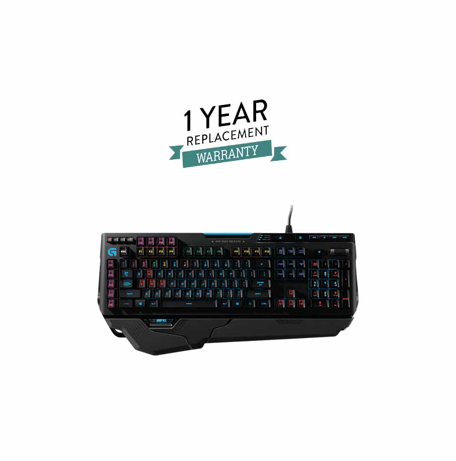 Logitech G910 Orion Spark Mechanical Gaming Keyboard – With 1 Year  Replacement Warranty - Eitimad