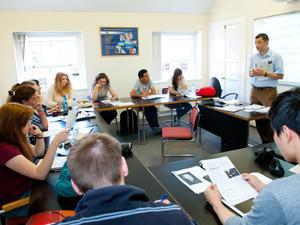 Clases del curso de inglés para adultos en Dublín