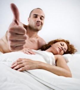 Happy premature ejaculation pill guy