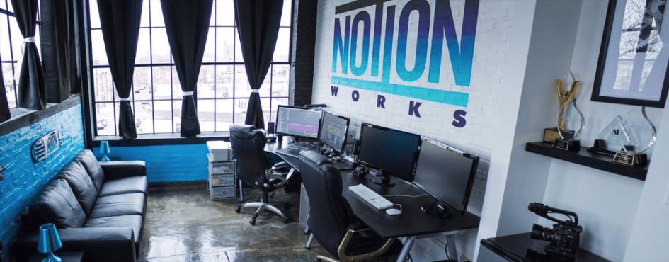 Notion Works Logo Studio