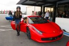 Giada Pezzaioli, Miss Italy 2015, gets ready for a lab around the track with a professional driver at Exotics Racing on Wednesday December 9th. The 2015 Miss Universe contestants are touring, filming, rehearsing and preparing to compete for the DIC Crown in Las Vegas. Tune in to the FOX telecast at 7:00 PM ET live/PT tape-delayed on Sunday, Dec. 20, from Planet Hollywood Resort & Casino in Las Vegas to see who will become Miss Universe 2015. HO/The Miss Universe Organization