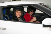 Daniela Torres, Miss Nicaragua 2015, gets ready for a lab around the track with a professional driver at Exotics Racing on Wednesday December 9th. The 2015 Miss Universe contestants are touring, filming, rehearsing and preparing to compete for the DIC Crown in Las Vegas. Tune in to the FOX telecast at 7:00 PM ET live/PT tape-delayed on Sunday, Dec. 20, from Planet Hollywood Resort & Casino in Las Vegas to see who will become Miss Universe 2015. HO/The Miss Universe Organization