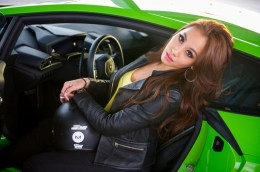 Vanessa Tevi Kumares, Miss Malaysia 2015, poses for a photo at Exotics Racing on Wednesday December 9th. The 2015 Miss Universe contestants are touring, filming, rehearsing and preparing to compete for the DIC Crown in Las Vegas. Tune in to the FOX telecast at 7:00 PM ET live/PT tape-delayed on Sunday, Dec. 20, from Planet Hollywood Resort & Casino in Las Vegas to see who will become Miss Universe 2015. HO/The Miss Universe Organization