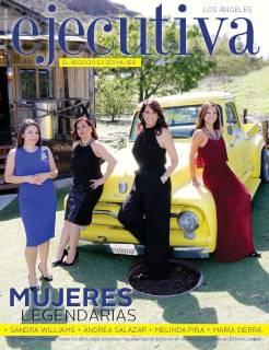 Ejecutiva magazine cover