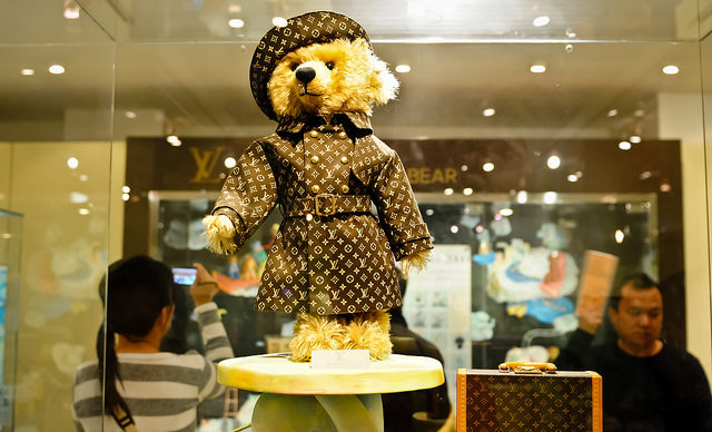STEIFF LOUIS VUITTON TEDDY BEAR: EL OSO DE PELUCHE MÁS CARO DEL MUNDO