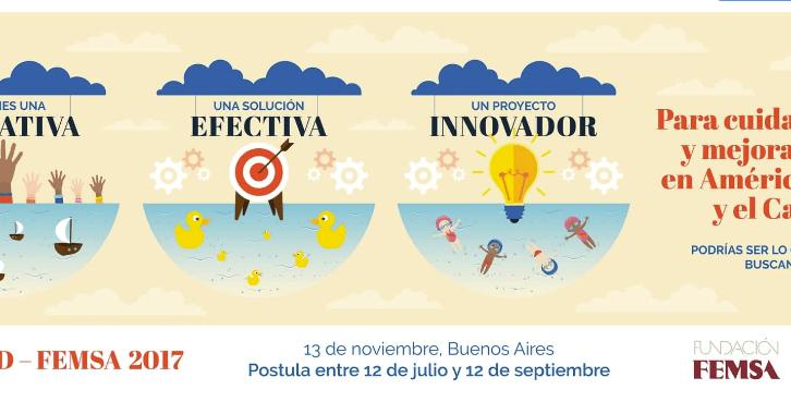 PARTICIPA EN EL PREMIO BID-FEMSA PARA INNOVACIÓN EN AGUA, SANEAMIENTO Y MANEJO DE RESIDUOS