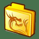 folder-rising-dragon-icon