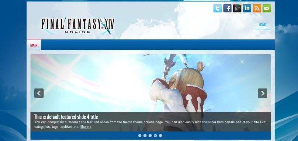 Final Fantasy Sliders