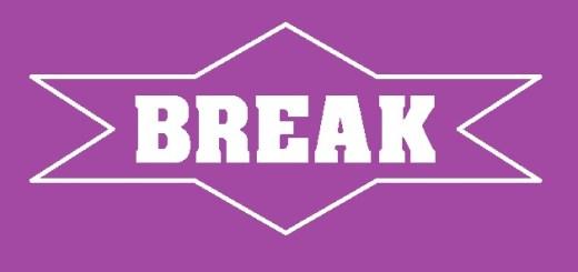 Oraciones con la palabra break.