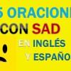 25 Oraciones Con Sad En Inglés | Ejemplos de Sad en Inglés