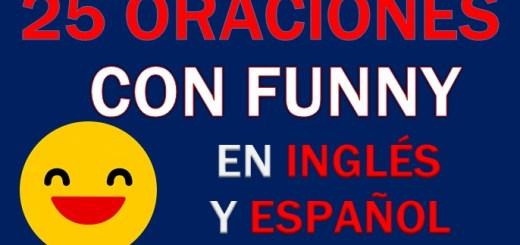 Oraciones En Inglés Con Funny