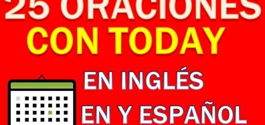Oraciones En Inglés Con Today