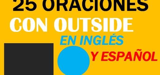 Oraciones En Ingles Con Outside