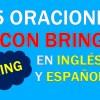 25 Oraciones Con Bring En Inglés | Sentences With Bring