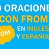 30 Oraciones Con From En Inglés ✔ Geniales Frases Con From🥇