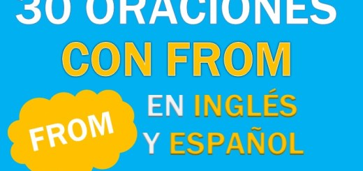 Oraciones Con From En Inglés