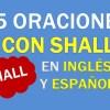 25 Oraciones Con Shall ✔ Oraciones Con Shall En Inglés y Español 🥇