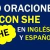 30 Oraciones Con She En Inglés ✔ Geniales Frases Con She🥇