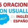 25 Oraciones Con Usually En Inglés ✔ Frases Con Usually🥇