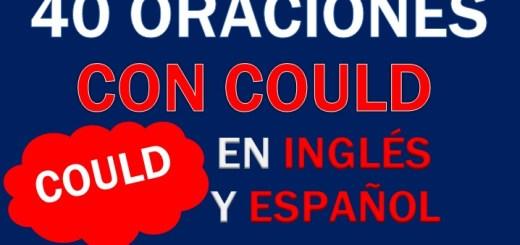 Oraciones Con Could En Inglés