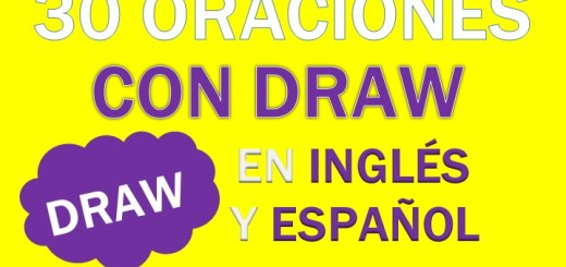 Oraciones Con El Verbo Draw
