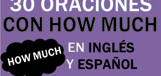 Oraciones Con How Much En Inglés