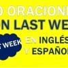 30 Oraciones Con Last Week En Inglés Y Español Geniales