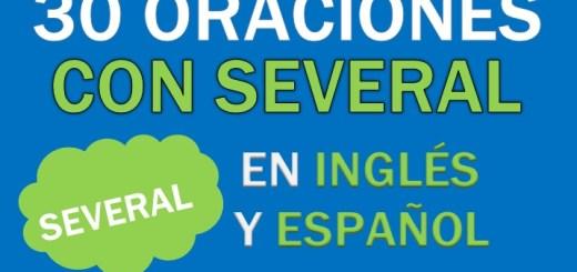 Oraciones En Inglés Con Several