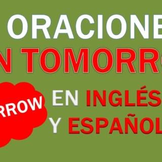 Oraciones En Inglés Con Tomorrow