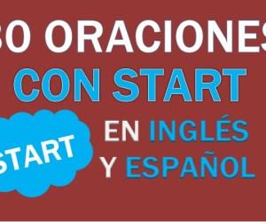30 Oraciones Con Start En Inglés ✔ Frases Con Start Fáciles⚡