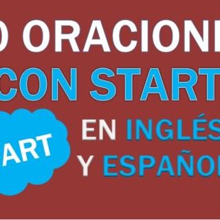 Oraciones Con Start En Inglés