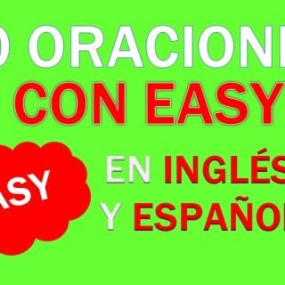 Oraciones Con Easy En Inglés