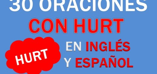 Oraciones Con Hurt En Inglés