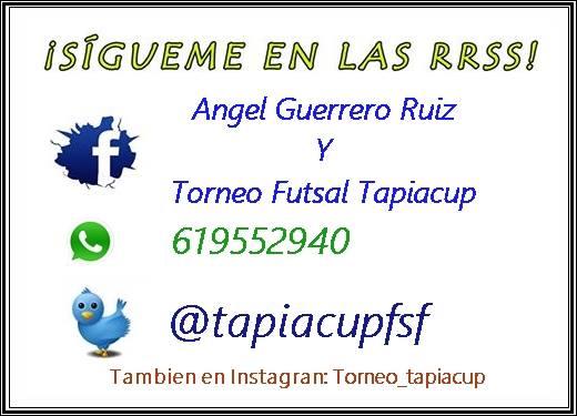 Nueva edición del Torneo TapiaCup Fútbol Sala