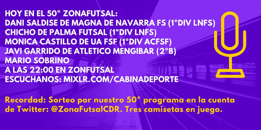 Programa 50 de ZonaFutsal