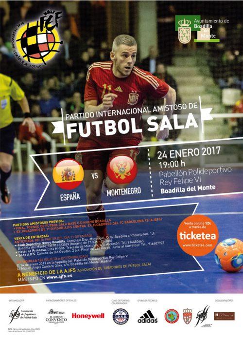Sorteo de dos entradas para el amistoso entre España y Montenegro