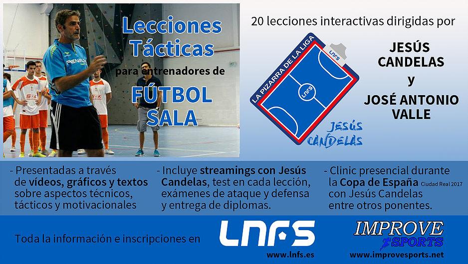 Curso de Lecciones Tácticas de Fútbol Sala por Jesús Candelas
