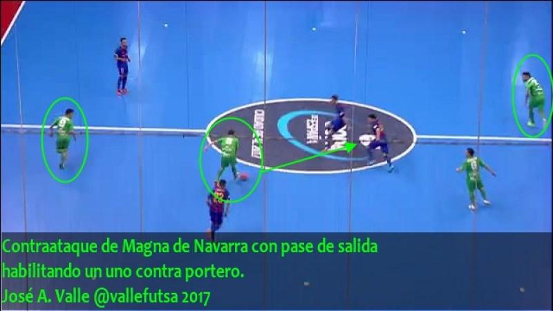 Contraataque de Magna de Navarra