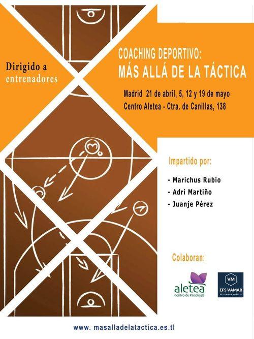 """1ª Edición de la formación de Coaching Deportivo: """"Más allá de la táctica"""""""