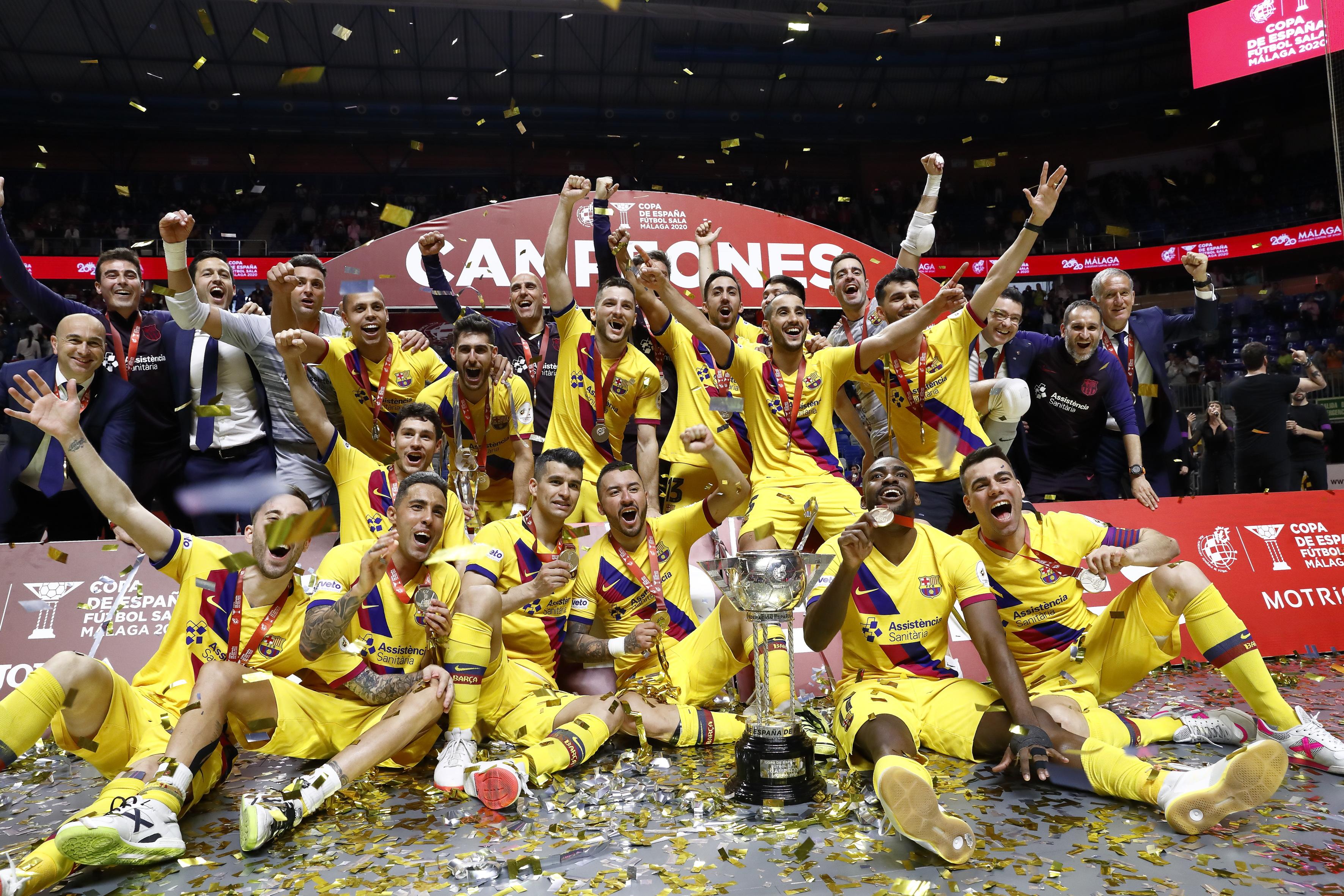 Por qué el FC Barcelona ganó la Copa de España de Fútbol Sala. El FC Barcelona ganó la Copa de España de Fútbol Sala celebrada en Málaga. Veamos desde un punto de vista muy persona porque el FC Barcelona ganó la Copa de España.