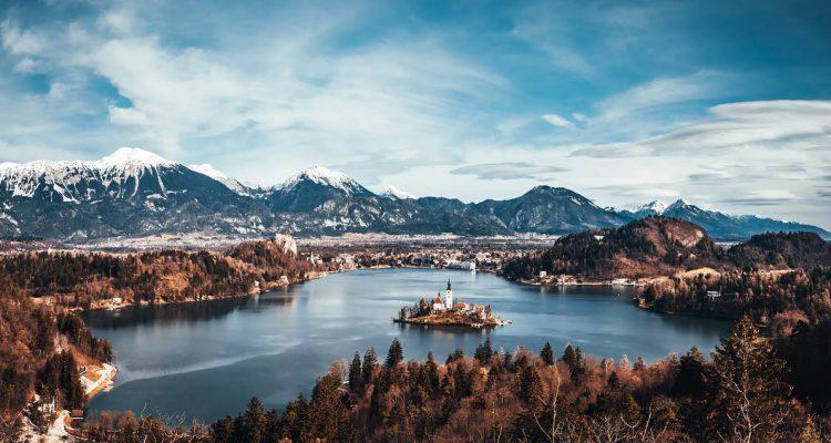 Bled, Blejsko jezero in pogled na gore