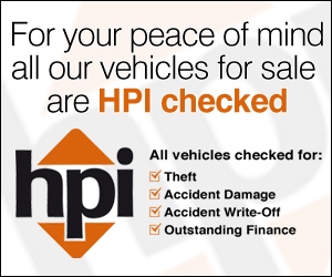 All Our Vehicles are HPI Checked