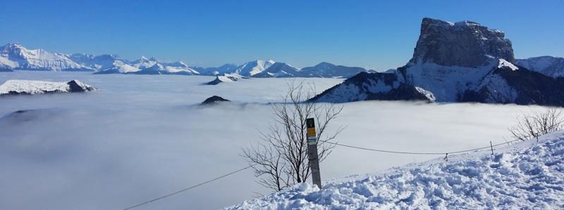 Méaudre, massif du Vercors Une nouvelle destination pour apprendre ailleurs, autrement proposée par EJ'N : classes de neige, classes de montagne.