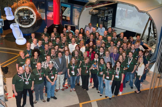 Tweetup at ESTEC, Noordwijk, NL with ESA astronaut Andre Kuipers lead by our own Mr. Operations Daniel Scukas