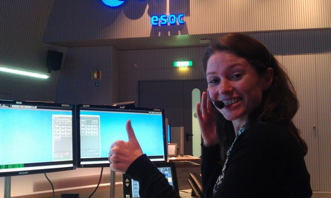 Kelsea covers the Sentinel-1A launch